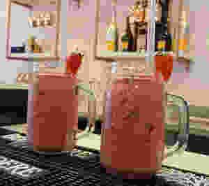 Wild Strawberry smoothie