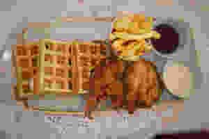 Lagos restaurants, fried chicken waffles